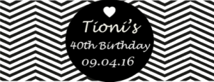 Tionis 40th