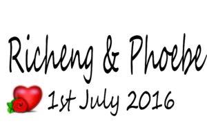 Phoebe Wedding