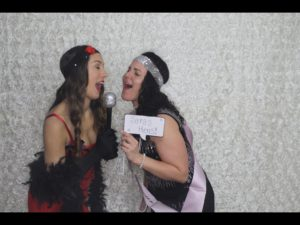 Photo Booth hire perth hens party gatsby theme sara 3