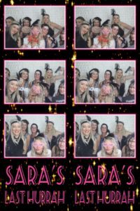 Photo Booth hire perth hens party gatsby theme sara 6