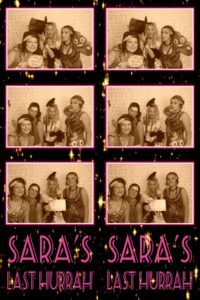 Photo Booth hire perth hens party gatsby theme sara 8